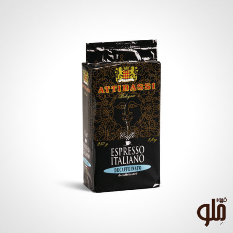 قهوه Attibassi بدون کافئین ۲۵۰ گرم
