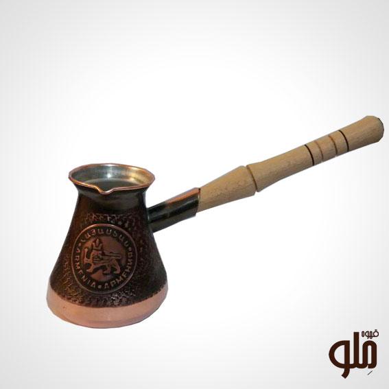 قهوه جوش مسی ارمنستان 2 فنجان
