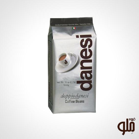 قهوه DANESI ایتالیا(Dopio black)کیسه ای ۱ کیلویی