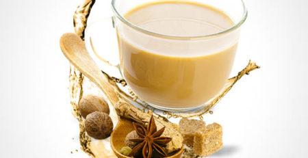 چای تی یا شیر چایی