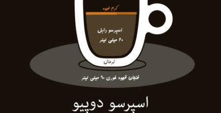 اینفگرافی قهوه(اسپرسو دوپیو)