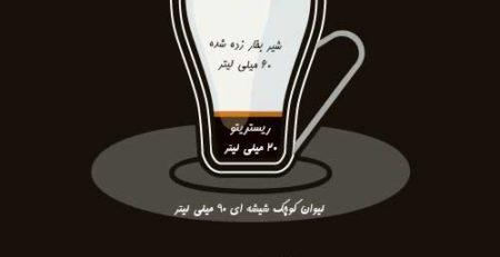 اینفوگرافی قهوه(Piccolo latte)