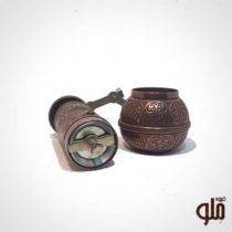 آسیاب دستی قهوه فلزی