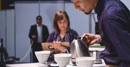 مسابقات جهانی دم آوری قهوه