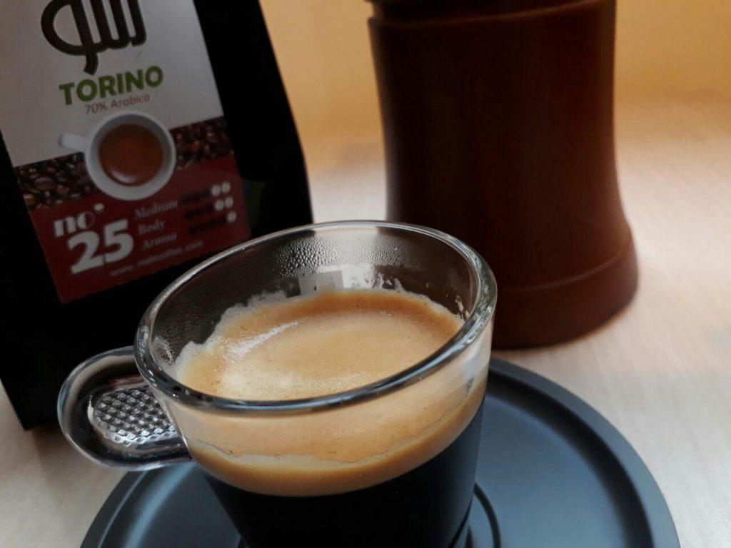 قهوه ترکیبی تورینو