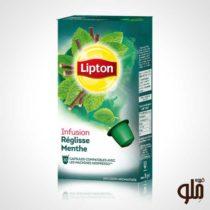 کپسول چای لیپتون Reglisse Menthe