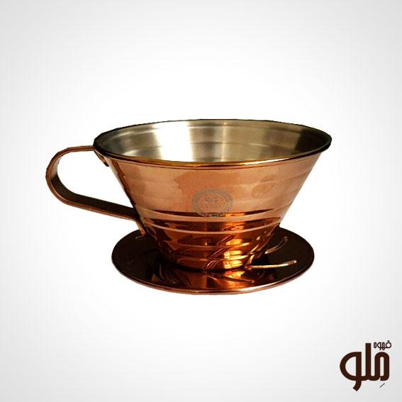 قهوه ساز V60 مسی