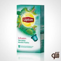 کپسول چای لیپتون طعم گیاه شاهپسند و نعنا