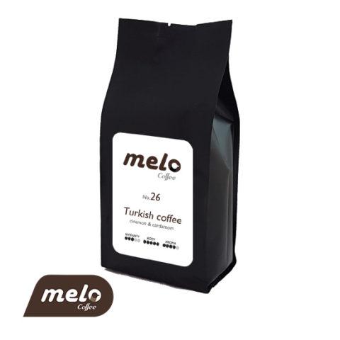 قهوه ترک با رایحه هل و دارچین