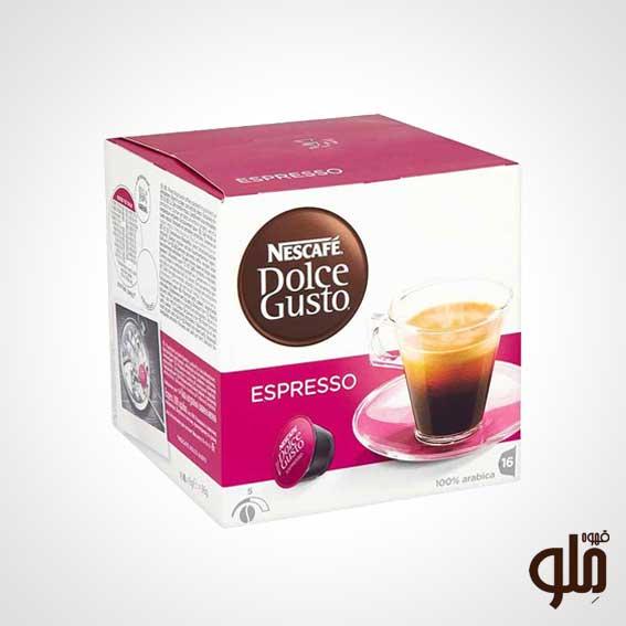 کپسول قهوه اسپرسو دولچه گوستو