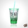 ice cup green