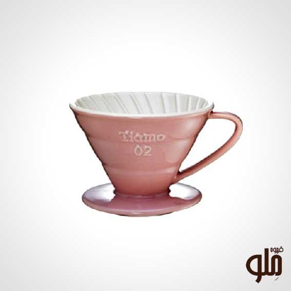 قهوه ساز v6o صورتی