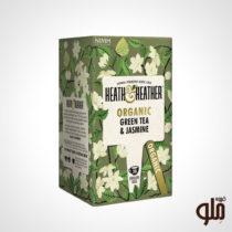 چای سبز و گل یاس Heth & Heather