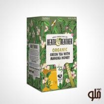 چای سبز و عسل مانوکا