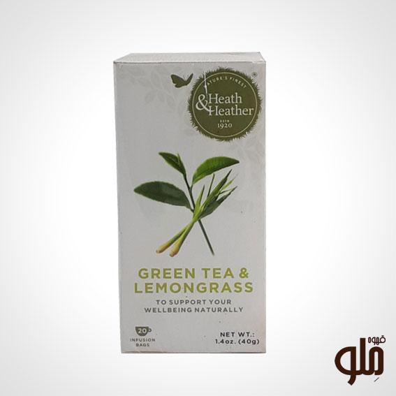 چای سبز همراه با رایحه لیمو هیت اند هیتر