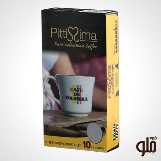 کپسول قهوه مدل pure colombian