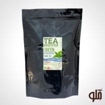 دمنوش چای سبز و نعناع