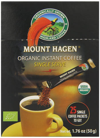 قهوه فوری ارگانیک Mount Hagen
