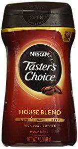 قهوه فوری نسکافه تیستر چویس مدل ترکیبی هاوس Nescafe Taster's Choice Instant House Blend Coffee