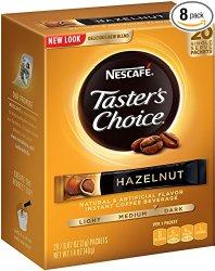 قهوه فوری نسکافه تیستر چویس Nescafe Tasters Choice Hazelnut