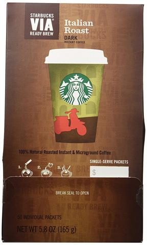 قهوه فوری روست ایتالیایی استار باکس Starbucks Italian Roast Instant Coffee