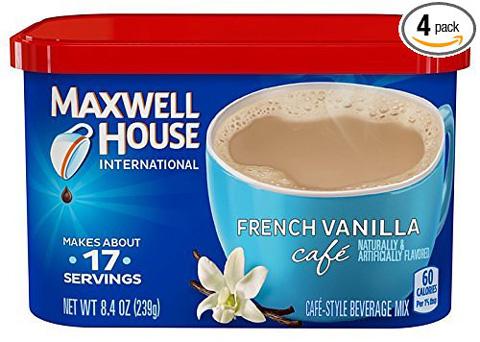 قهوه فوری ماکسول هاوس Maxwell House French Vanilla