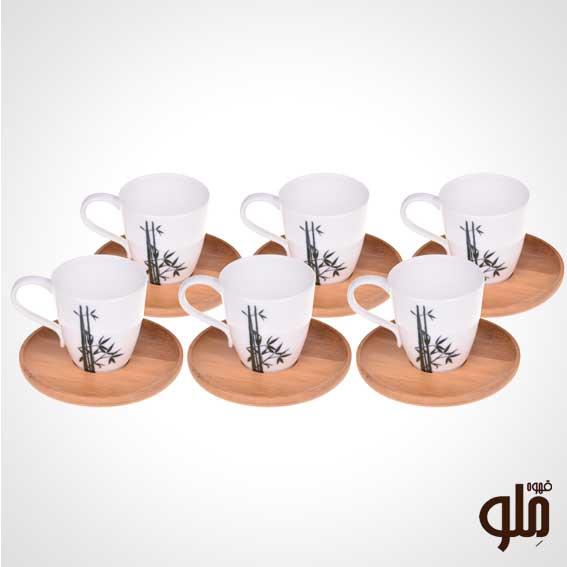 قهوه خوری ترک 6 نفره بامبوم