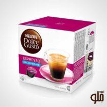 کپسول قهوه دولچه گوستو مدل اسپرسو دکافئین