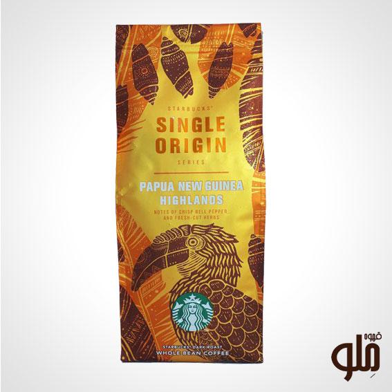 قهوه تک خاستگاه استارباکس مدل پاپوا گینه نو