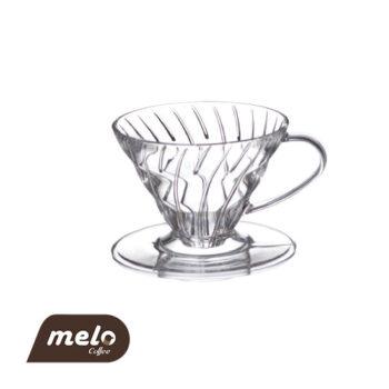قهوه ساز دریپر V60 هاریو (1 فنجان)