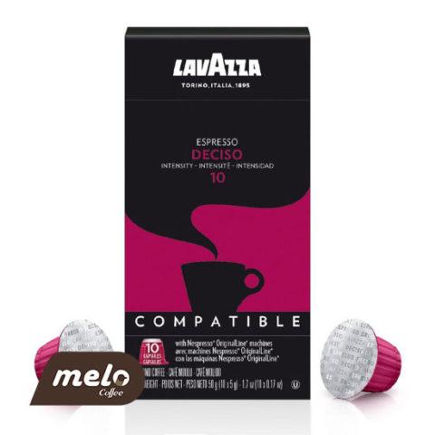 کپسول قهوه لاوازا Espresso Deciso