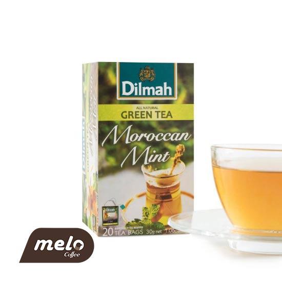 چای سبز نعنا مراکشی (Dimah)
