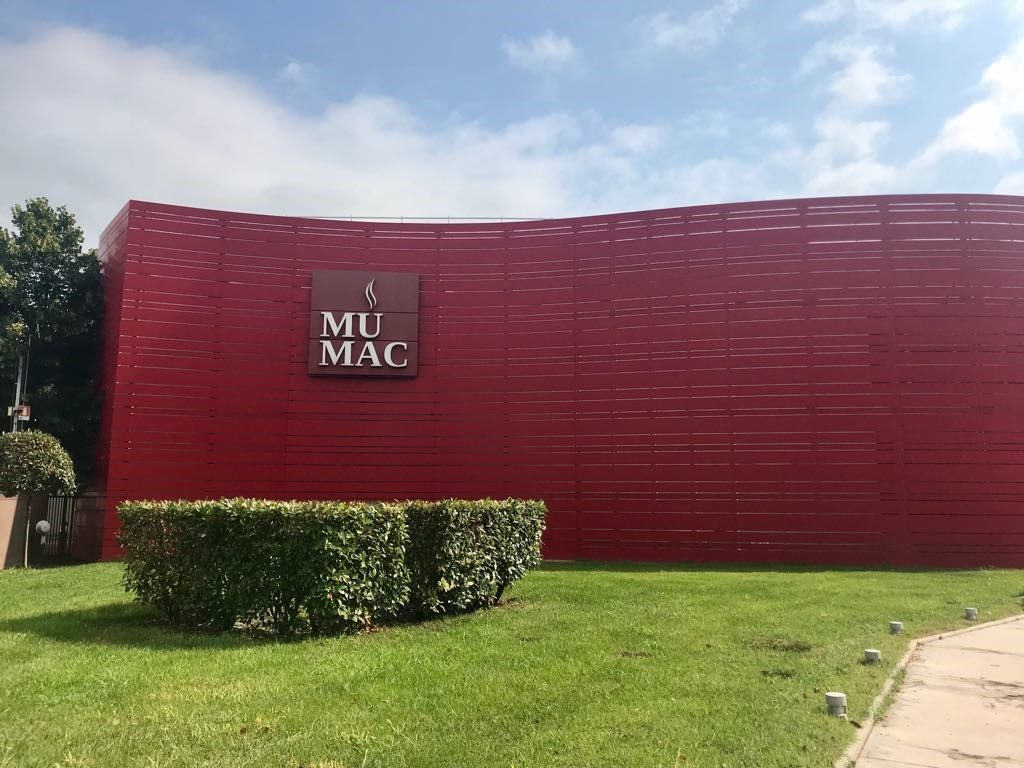 نماد MUMAC درBinasco، ایتالیا.عکس: گیسل گوررا