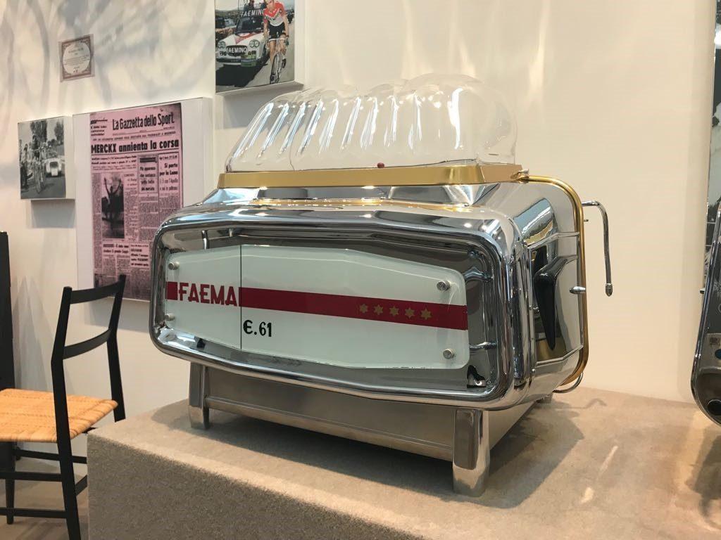 Faema E61 در سال 1961 توسط ارنستو ولنت طراحی شده است.عکس:گیسل گوررا