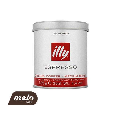 قهوه ایلی اسپرسو مدیوم روست ۱۲۵ گرمی
