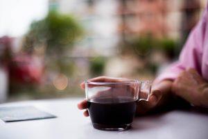 قهوه کلمبیایی، آماده برای نوشیدن.