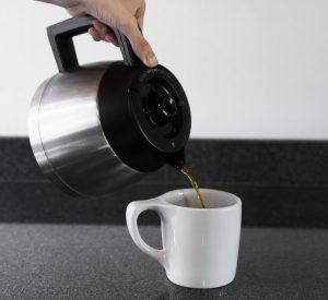 قهوه تازه دم.