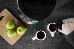 قهوه تازه دم برای دو نفر.