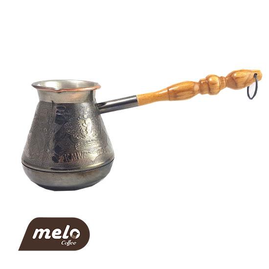 قهوه جوش جازوه روسی طرح Crown 400 ml