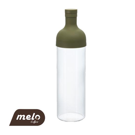 بطری چای ساز فیلتردار هاریو (زیتونی)