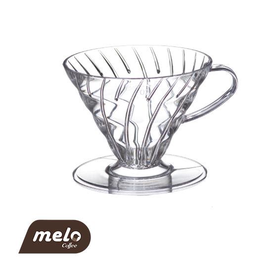 قهوه ساز دریپر V60 هاریو (2 فنجان)