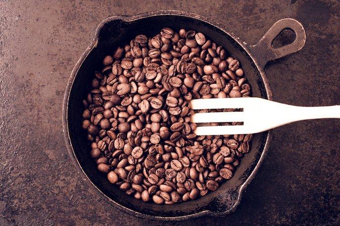 مراحل برشته کردن قهوه