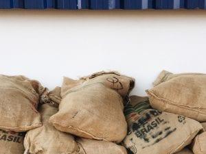 کیسه های قهوه سبز برزیلی