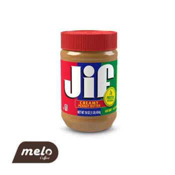 کره بادام زمینی کرِمی Jif (بدون گلوتن)