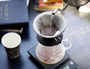 قهوه V60، یکی از محبوب ترین شیوه های دم کردن قهوه اسپشالتی در کویت