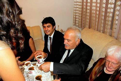 قهوه ترک در مراسم خواستگاری در ترکیه
