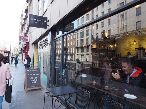 Saint espresso، خیابان بِیکر