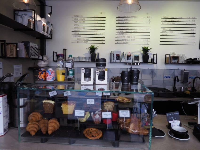 Saint espresso در خیابان بِیکِر