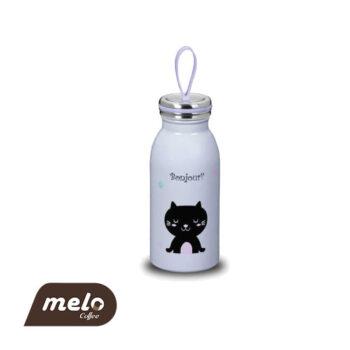 بطری دوجداره کودک کورکماز بنفش 350ml
