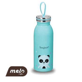 بطری دوجداره کودک کورکماز آبی 450ml